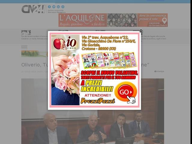 """Oliverio, Turismo: """"Meno divisioni, più cooperazione"""""""