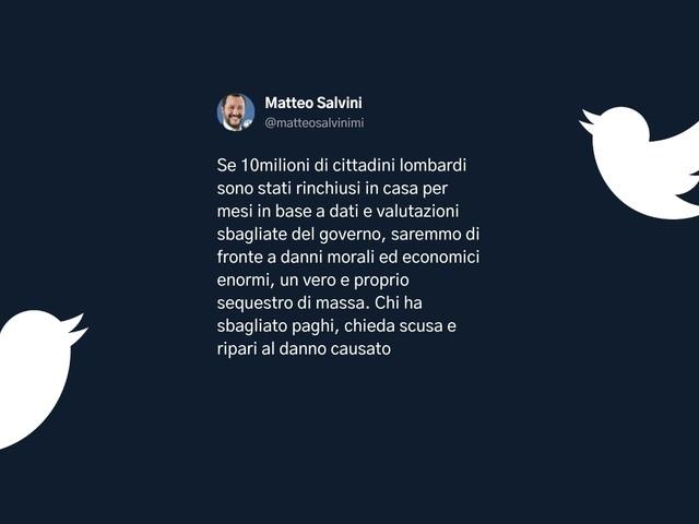 Clamoroso: Salvini chiede le dimissioni di Attilio Fontana?