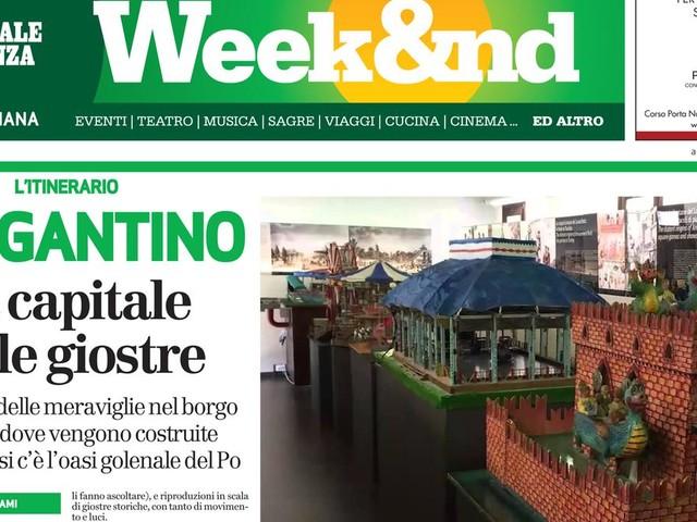 Le giostre di Bergantino e i menu vegani a Solferino
