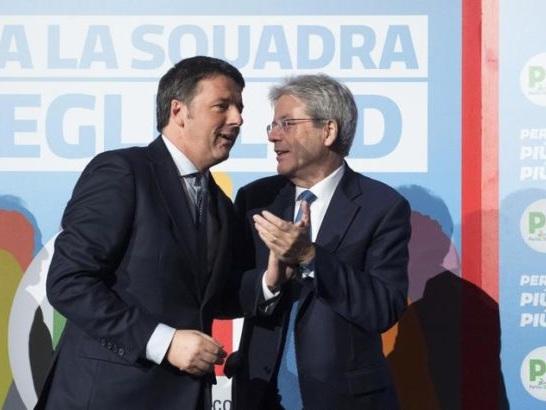 PD: i renziani si staccano da Martina e voteranno Gentiloni presidente