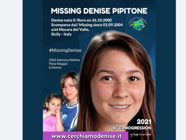 Denise Pipitone, ecco come sarebbe oggi la bambina scomparsa 17 anni fa a Mazara del Vallo
