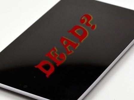 Il tuo tablet o smartphone sembra morto?