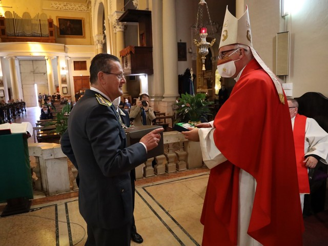 La Guardia di finanza di Ferrara celebra il patrono San Matteo