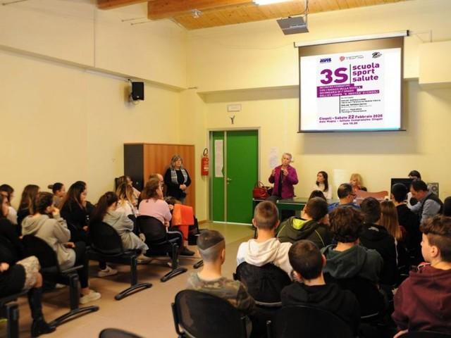 """Cingoli, scuola, sport e salute: al via il progetto """"3 S"""""""