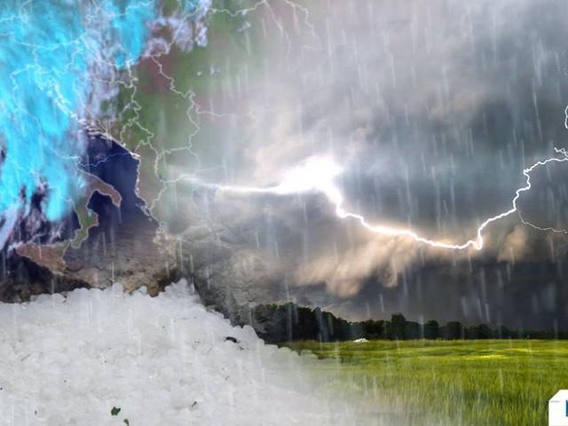 CRONACA meteo DIRETTA: ITALIA SPACCATA DAL MALTEMPO. TEMPORALI, NUBIFRAGI, GRANDINE E TROMBE D'ARIA AL CENTRO. CALDO INTENSO AL SUD. Foto e video