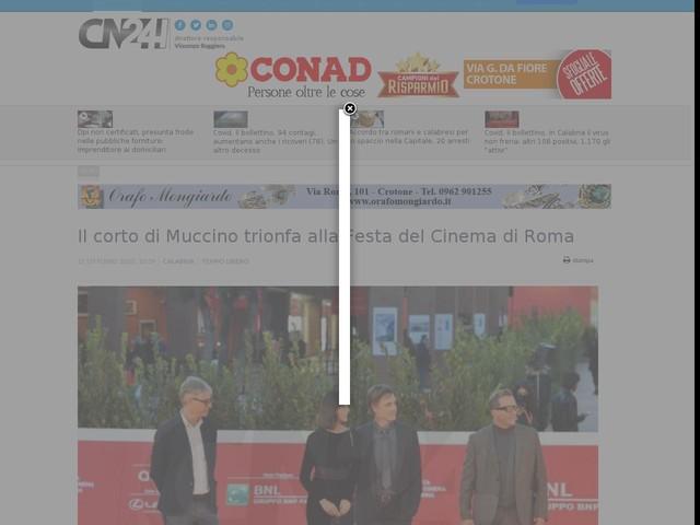 Il corto di Muccino trionfa alla Festa del Cinema di Roma