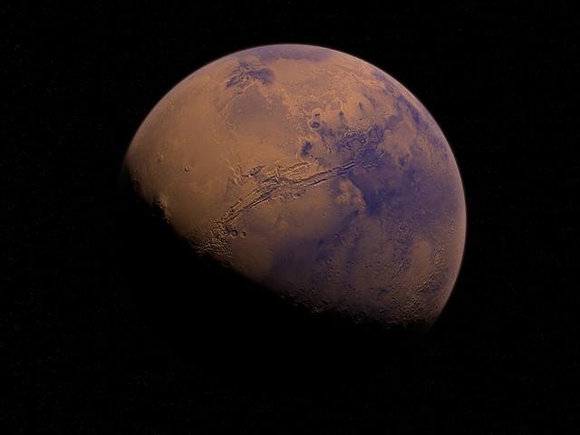 Marte, tracce di ossigeno nell'atmosfera del pianeta rosso