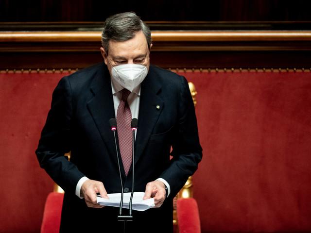 Draghi al Senato: Responsabilità verso Europa, spendere bene e con onestà
