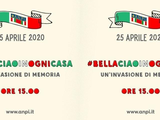 25 aprile, l'Anpi propone un flashmob: intoniamo tutti insieme Bella Ciao dal balcone