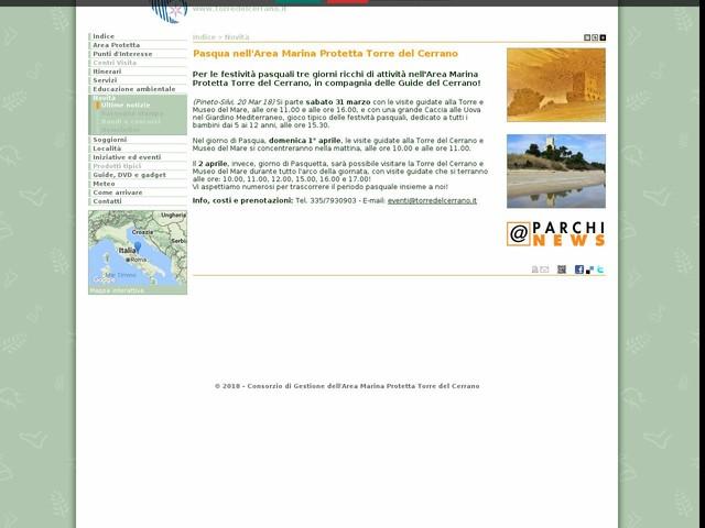 AMP Torre Cerrano - Pasqua nell'Area Marina Protetta Torre del Cerrano