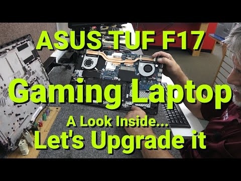 """ASUS TUF 17.3"""" Gaming Laptop Memory Upgrade Add Additional HDD. FX706l"""
