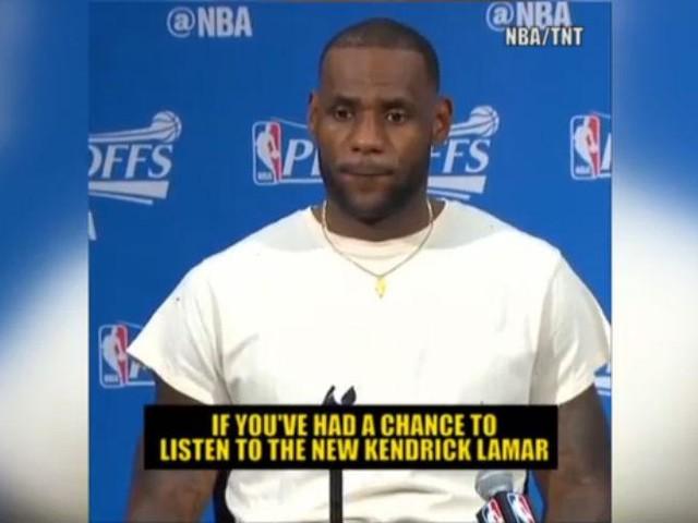 NBA, LeBron James parla del suo rapporto con Kendrick Lamar