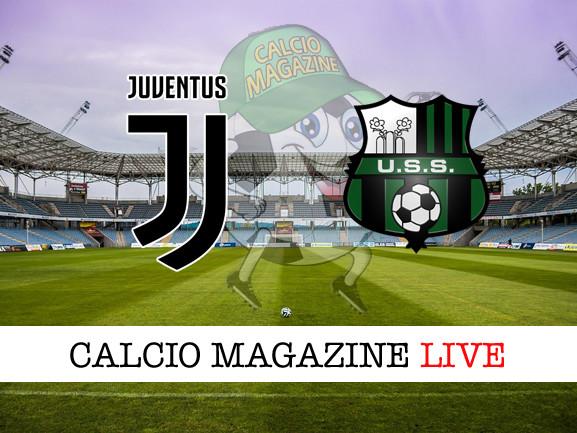 Juventus – Sassuolo: cronaca diretta live, risultato in tempo reale
