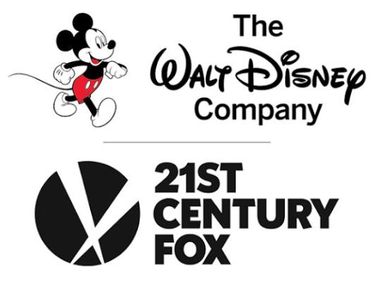 Disney compra una parte della 21st Century Fox per 66.1 miliardi di dollari