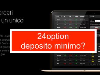 24option deposito minimo si abbassa a 100 euro: opinioni italia
