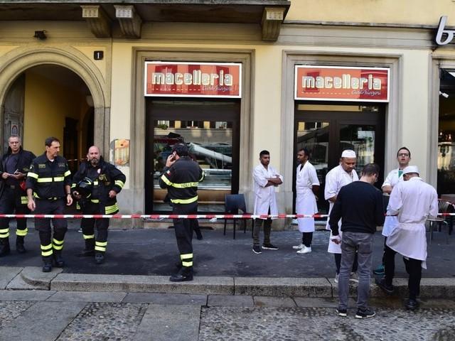Milano, crolla il controsoffitto della storica macelleria Panzeri: feriti quattro clienti