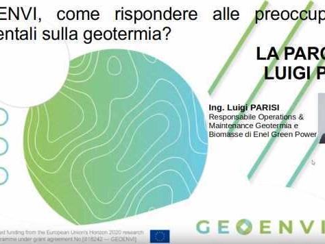 Geoenvi, come rispondere alle preoccupazioni ambientali sulla geotermia? La parola a Enel