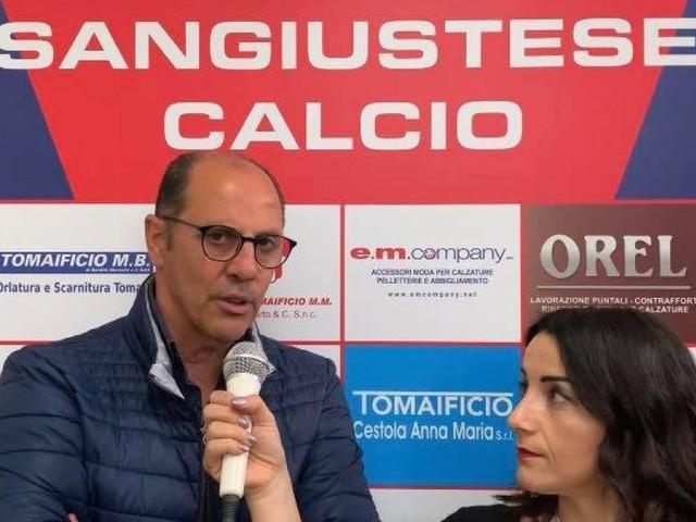 Sangiustese, le parole del dg Cossu in vista dell'importante match contro la Savignanese