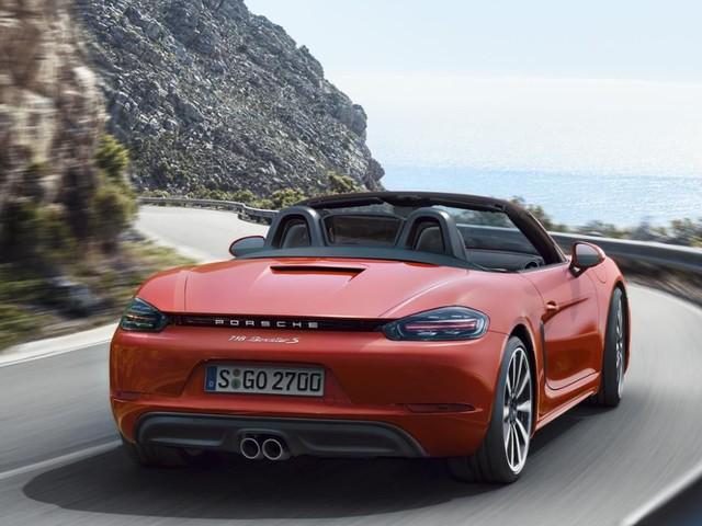 Porsche: le nuove Boxster e Cayman saranno ibride