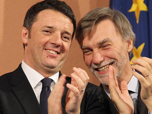 """Crisi, Renzi: """"Il capitano si è impaurito di brutto"""". Delrio: """"Con M5S accordo alla tedesca"""""""