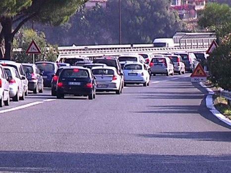 Lavori sulla tangenziale di Messina, in serata chiuso il tratto tra Gazzi e San Filippo