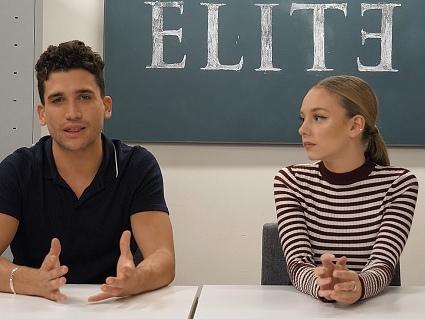 "Elite, Jaime Lorente e Ester Exposito a TvBlog: "" I fan più calorosi? In Italia!"""