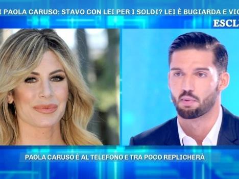 """Moreno Merlo: """"Paola Caruso mi ha picchiato"""". Lei chiama e smentisce tutto"""