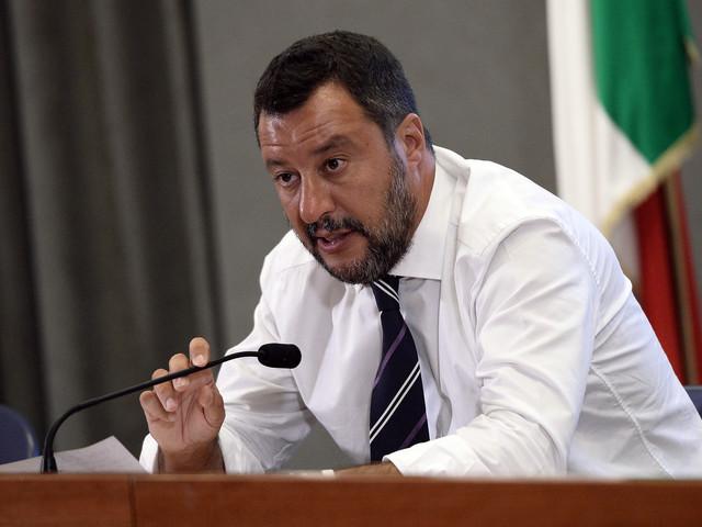 """Matteo Salvini: """"Qualcosa nel governo si è rotto"""""""