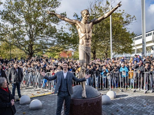 Ibrahimovic, la statua fa discutere: Calciopoli è arrivata in Svezia…