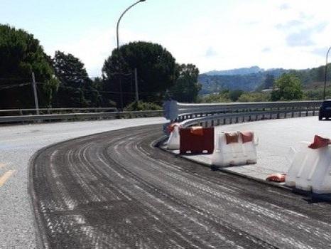 Autostrada Messina-Palermo, lavori in corso allo svincolo di Rometta: tratto chiuso
