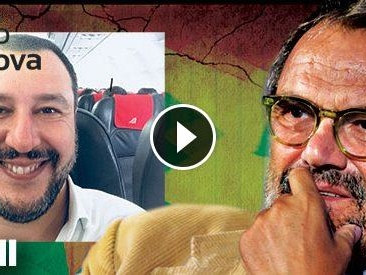 """Oliviero Toscani: """"Salvini? È un ladro, ha rubato il lavoro a Crozza. Sarebbe un buon testimonial per la carta igienica"""""""