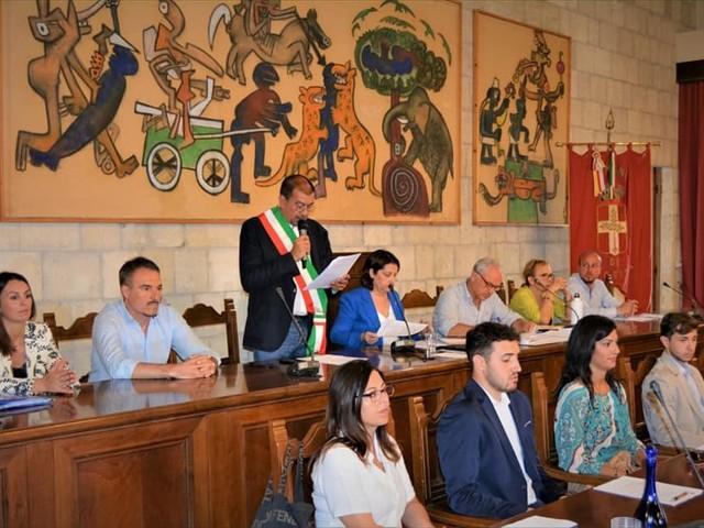Il giuramento di Giulivi: Sono e sarò sempre il sindaco di questa città e di chi vuole bene a Tarquinia