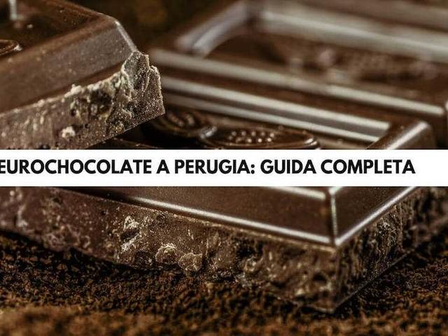 Eurochocolate a Perugia: guida completa all'edizione 2019