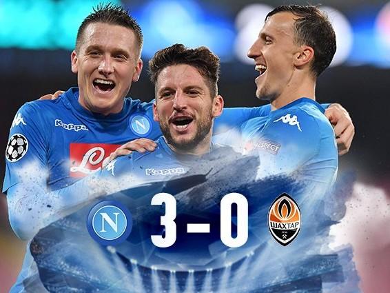 Magia Insigne, Zielinski e Mertens: il Napoli batte lo Shakhtar e non molla la Champions