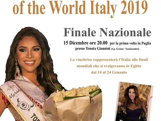 Top Model of the World Italy 2019 e Top Kids Model Italy 2019: le finali in Puglia il 15 dicembre