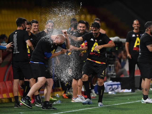 Benevento, è qui la festa: c'è anche la matematica, la Serie A è realtà! [FOTOGALLERY]