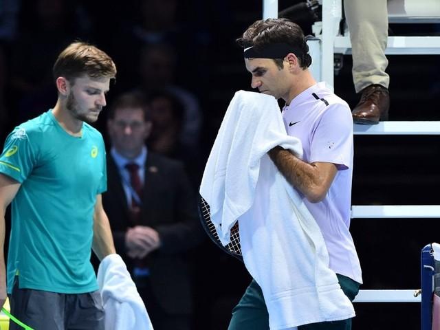 Tennis, Atp Finals; impresa Goffin: batte Federer ed è in finale