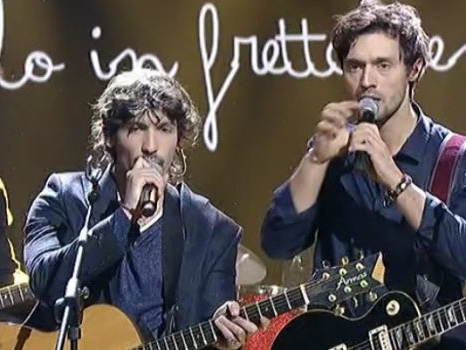 """Pierdavide Carone e Dear Jack da Giletti con Caramelle: """"L'sms di Baglioni mai arrivato"""" (video)"""