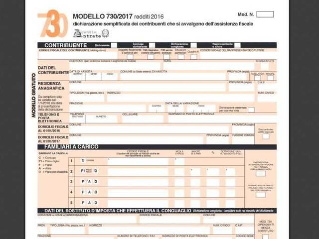 dichiarazione redditi 2017 scadenza 730 e modello redditi