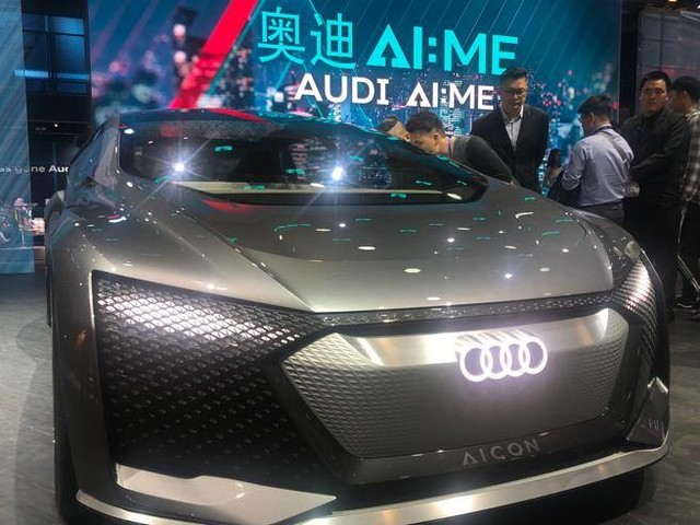 Audi AI:ME, la citycar del futuro