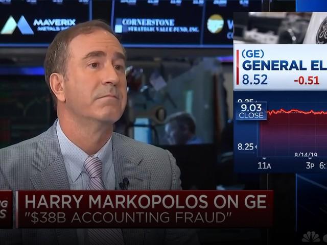 L'accusatore del caso Madoff ora attacca General Electric
