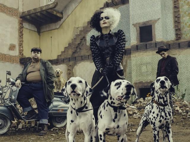 Emma Stone, la sua «Cruella» è una dark lady punk