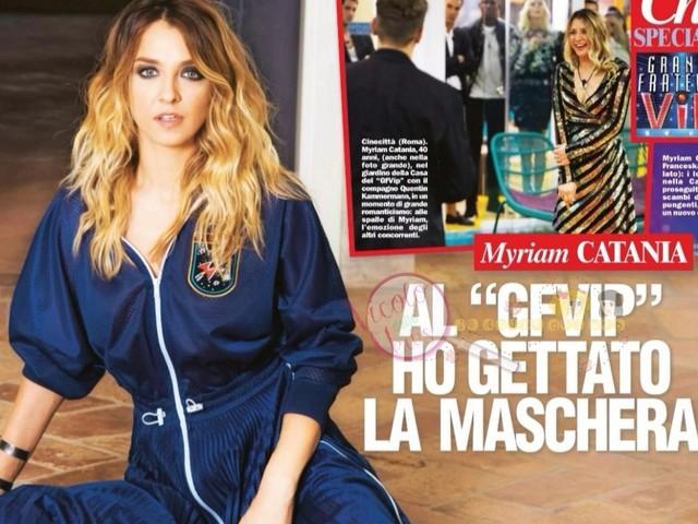 'Grande Fratello Vip' Intervista a Myriam Catania che spiega le sue insinuazioni sul guardaroba costoso di Franceska Pepe e risponde alle sue sul vizio di bere troppo