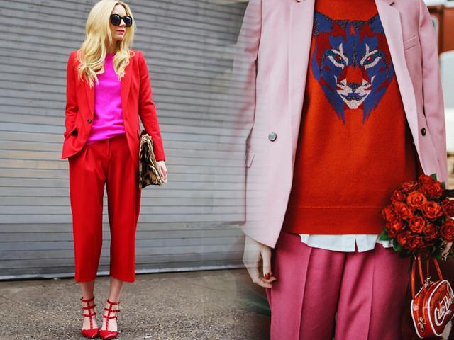 Rosso e rosa: una coppia (fashion) vincente!