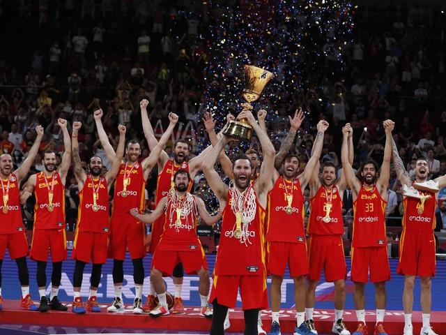 La Spagna campione del mondo batte l'Argentina di 20 punti