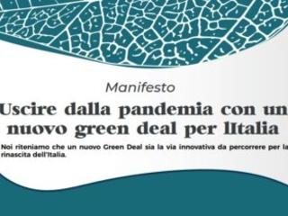 """Il manifesto """"Uscire dalla pandemia con un nuovo Green Deal per l'Italia"""". 110 firme dal mondo delle imprese per una ripresa green"""