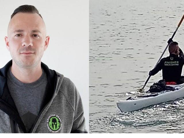 Civitanova-Croazia in kayak: la traversata di Alessandro Gattafoni per curare la Fibrosi Cistica