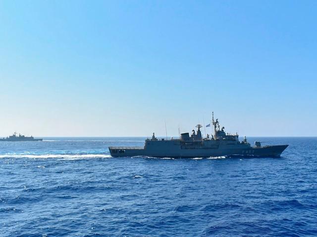 Pope addresses tension in eastern Mediterranean sea