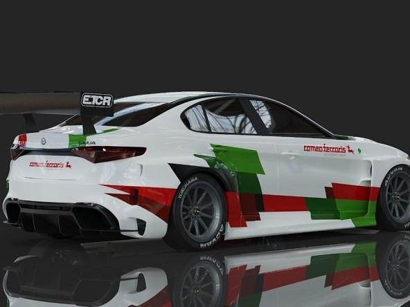 ETCR | Romeo Ferraris lancia la Giulia