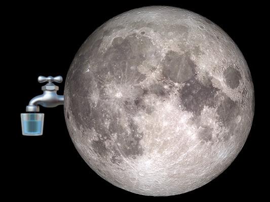 L'acqua lunare è un mistero misterioso